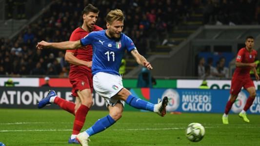 Ciro Immobile Italy Portugal