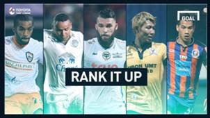 RANK IT UP : ใครคือแข้งเอาท์ฟิลด์ลงสนามมากสุด 18 ทีมไทยลีก 2017