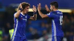 David Luiz Diego Costa Chelsea