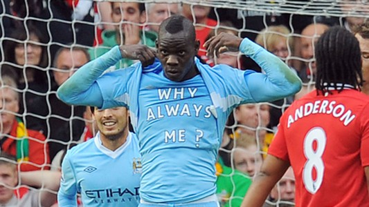 Mario Balotelli Manchester City Why Always Me
