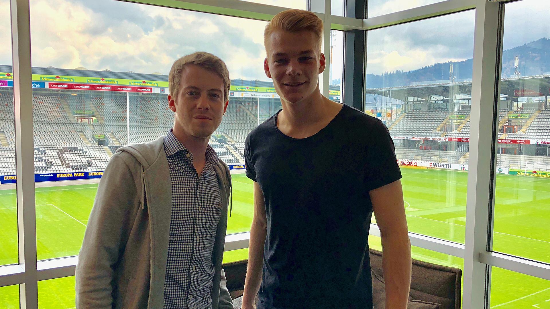 Philipp Lienhart SC Freiburg DM
