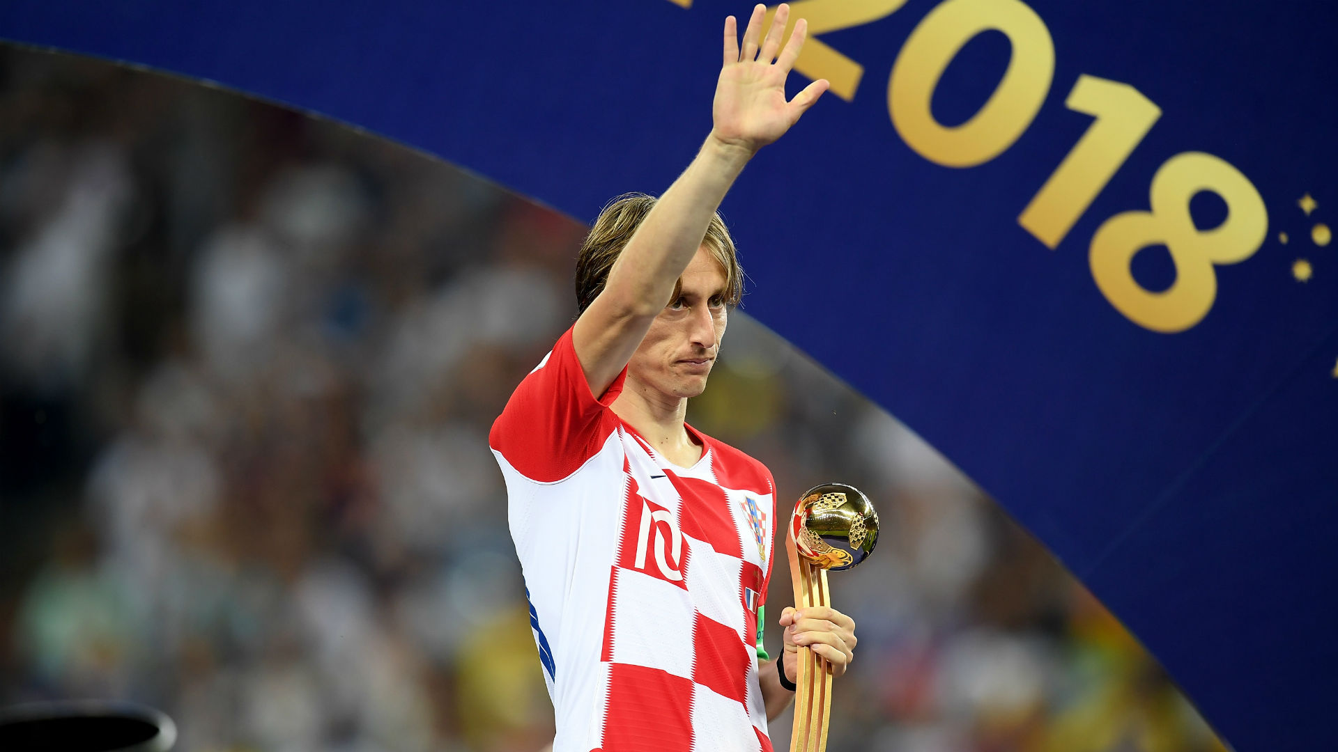 luka modric golden ball - world cup 2018
