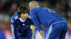 Verón Messi