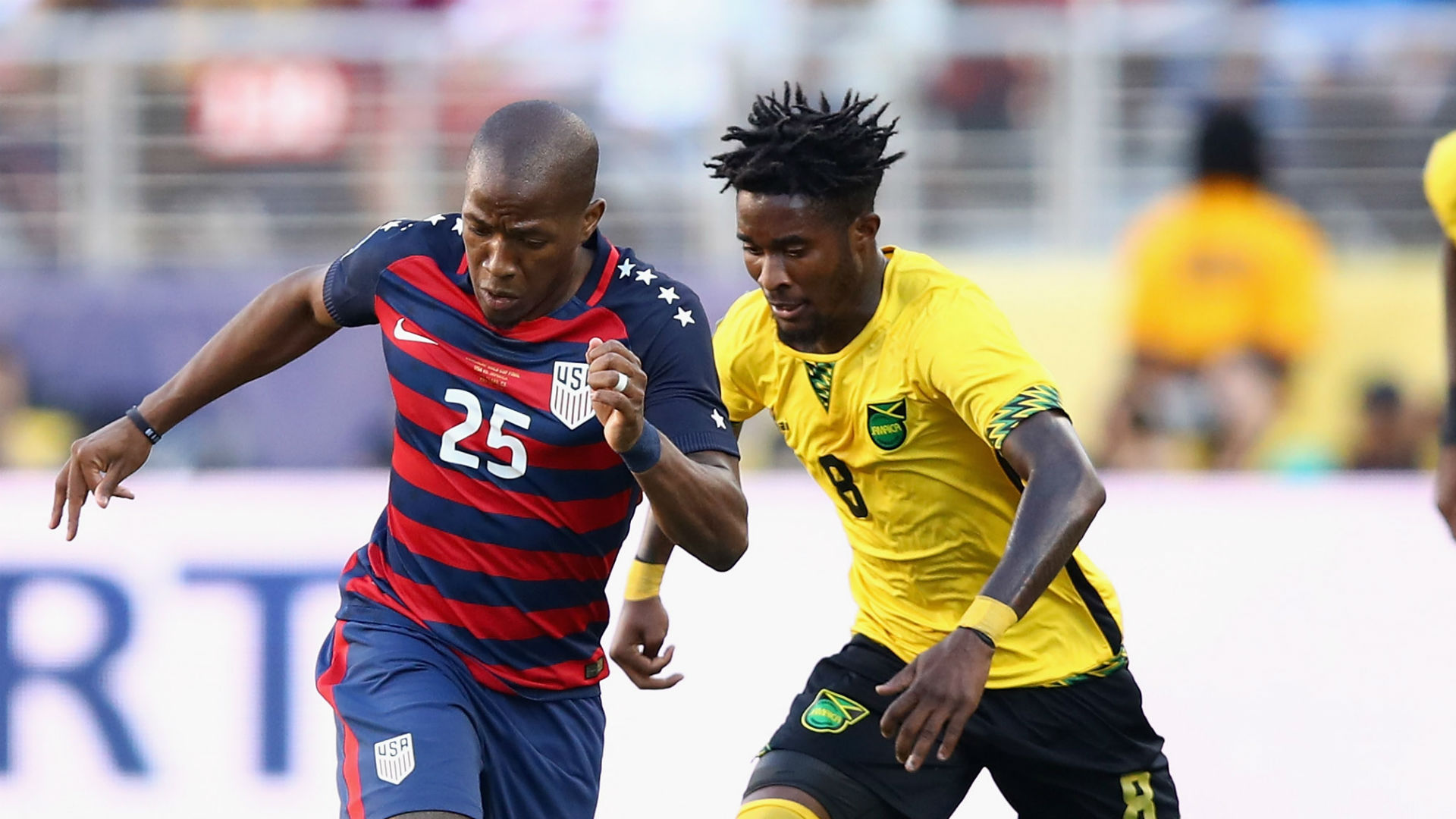 Darlington Nagbe Oneil Fisher USA Jamaica Gold Cup