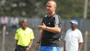 Nakumatt coach Melis Medo v Ushuru.