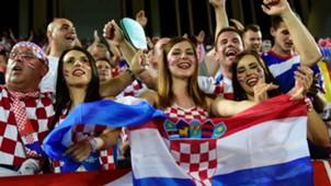 euro 2016 - Croatia fans