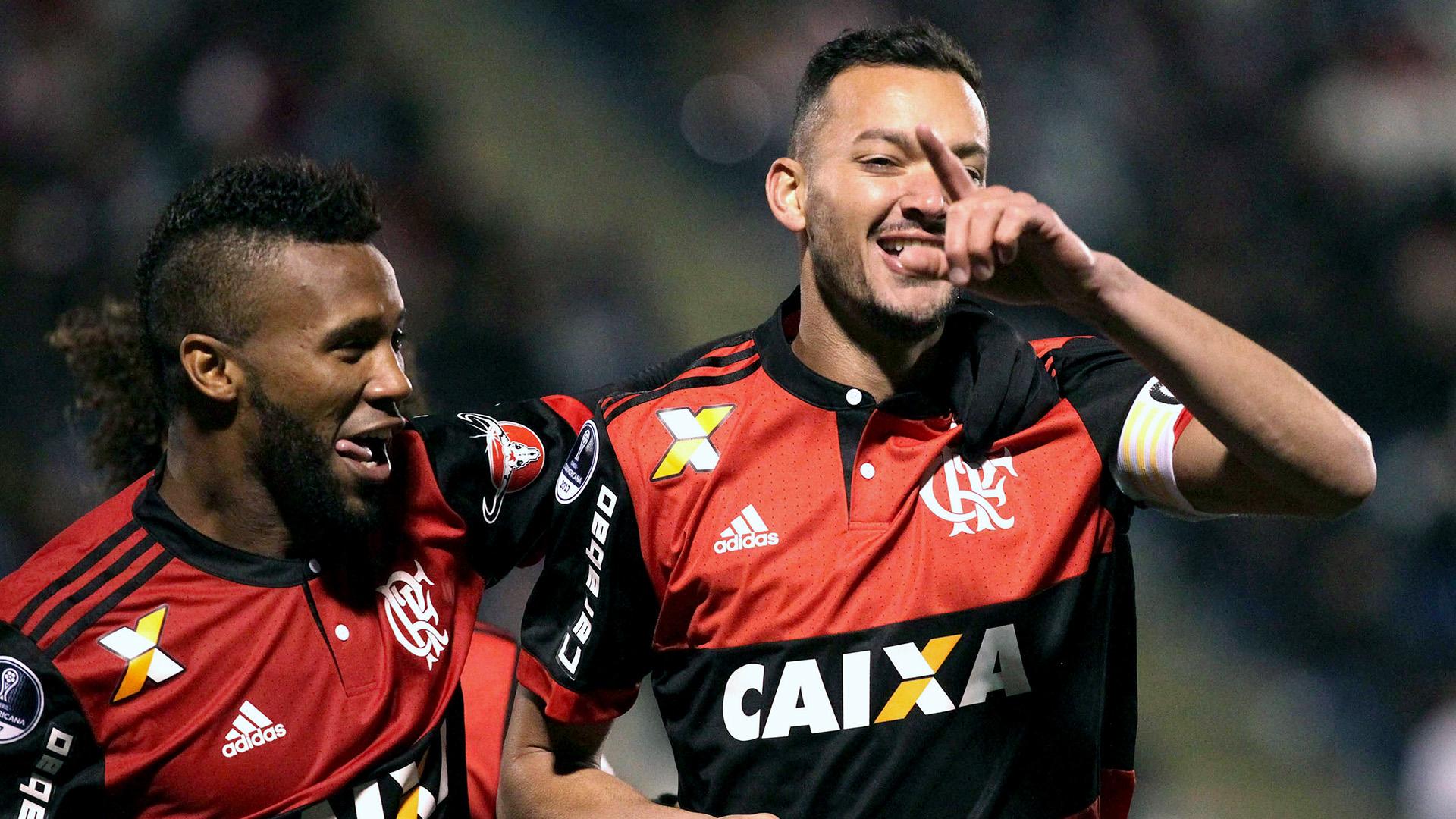 Rever Rafael Vaz Palestino Flamengo Copa Sudamericana 05072017