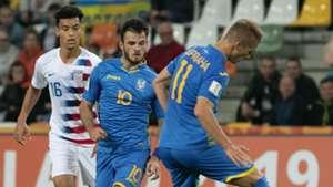 Ukraine U20, USA U20