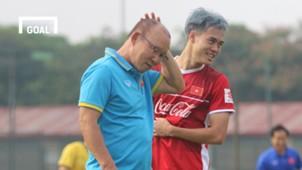 Olympic Việt Nam tập luyện ngày đầu tại Trung tâm VFF 23/7