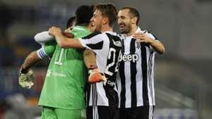 Buffon Chiellini Rugani - Juventus