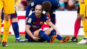 Andres Iniesta Barcelona