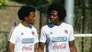 Juan Guillermo Cuadrado & Carlos Sánchez Colombia