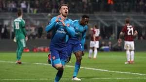 Ramsey celeb Milan Arsenal