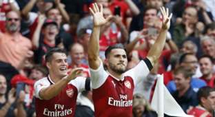 Sead Kolasinac Arsenal Chelsea Community Shield