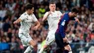 Sergio Reguilon Lionel Messi Toni Kroos Real Madrid Barcelona LaLiga 03022019