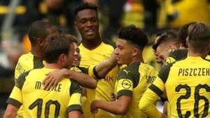 Borussia Dortmund celebrate 2018-19