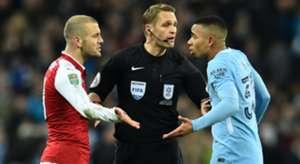 Jack Wilshere Gabriel Jesus Arsenal Manchester City