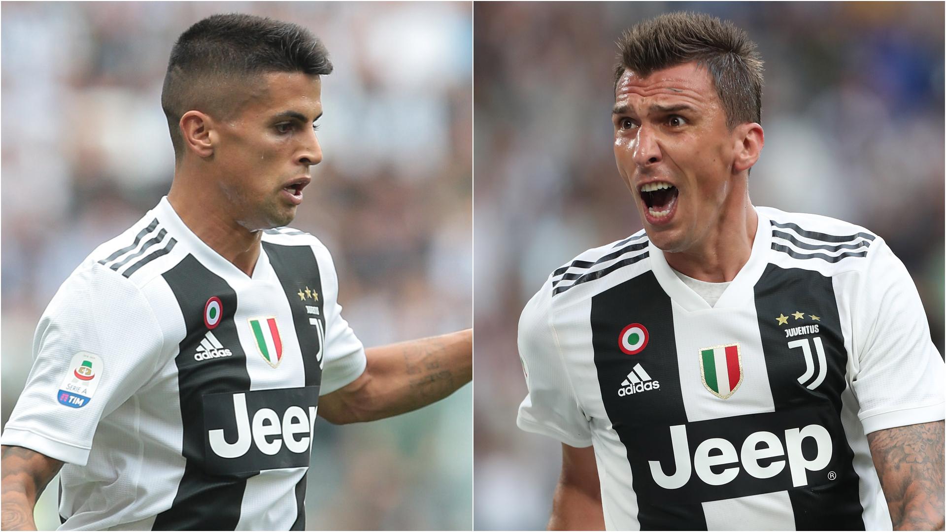 Joao Cancelo Mario Mandzukic Juventus