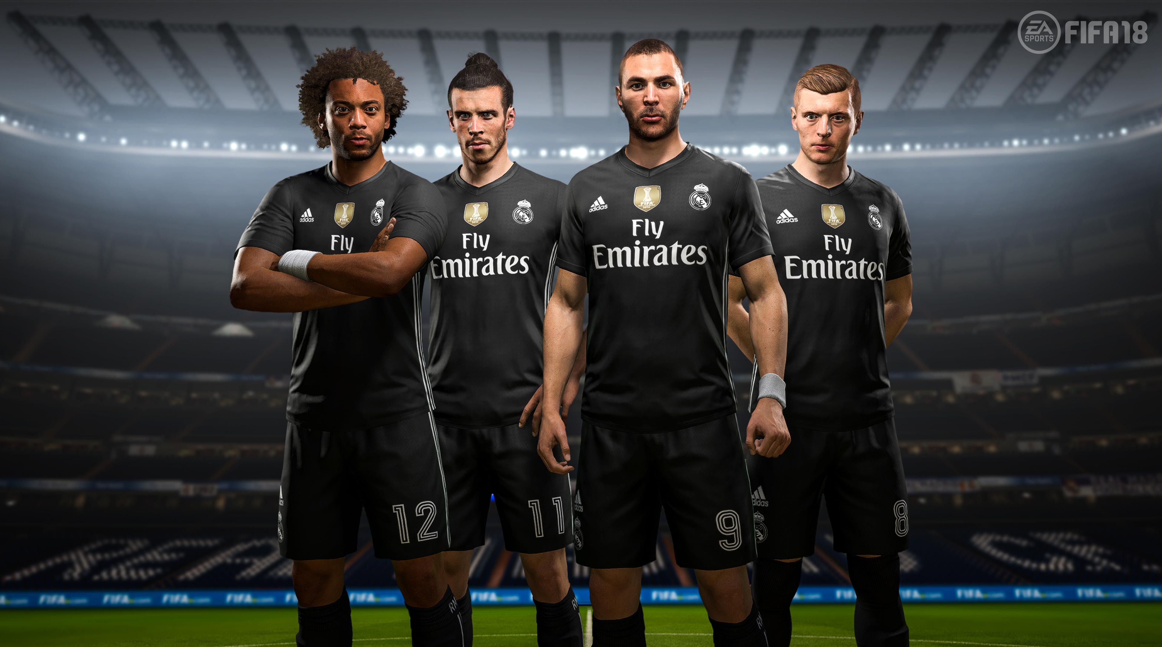 Real Madrid digital 4th kit