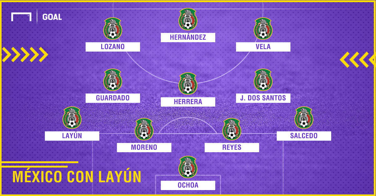 México con Layún PS