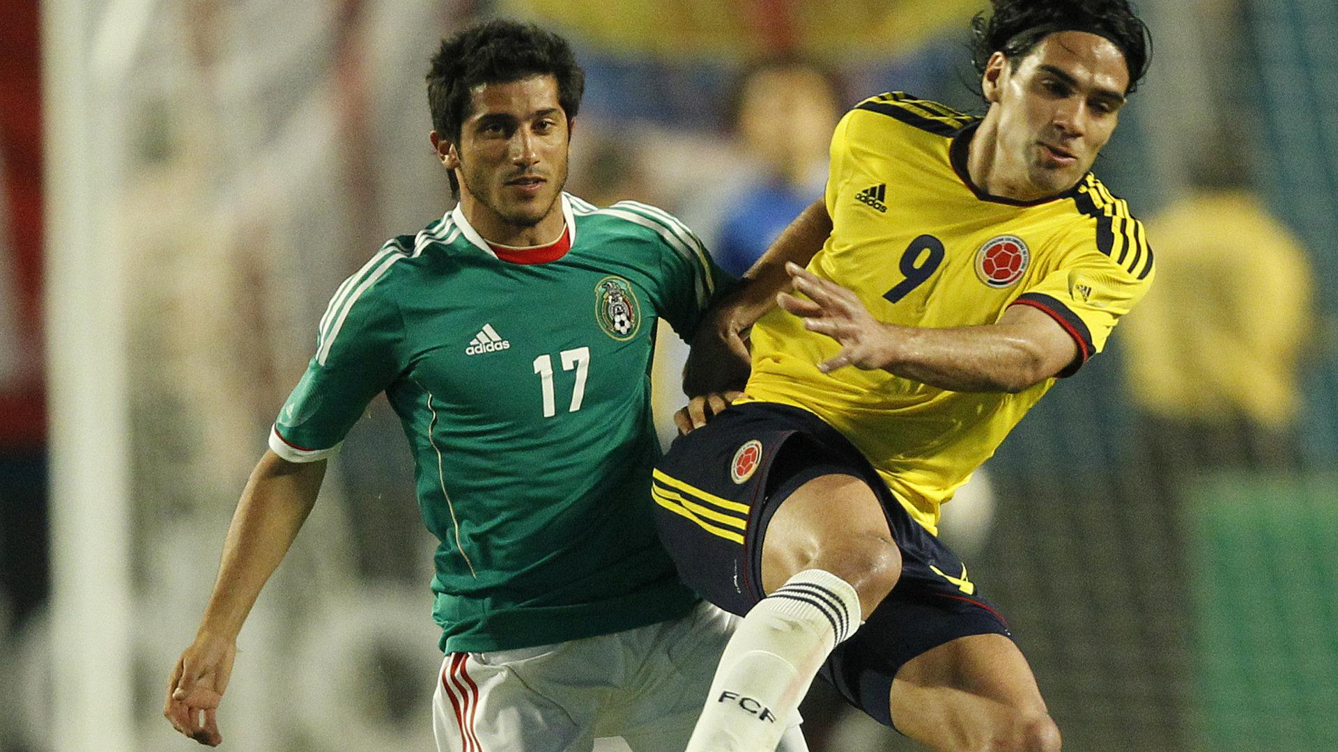 Damián Álvarez Selección mexicana 111018
