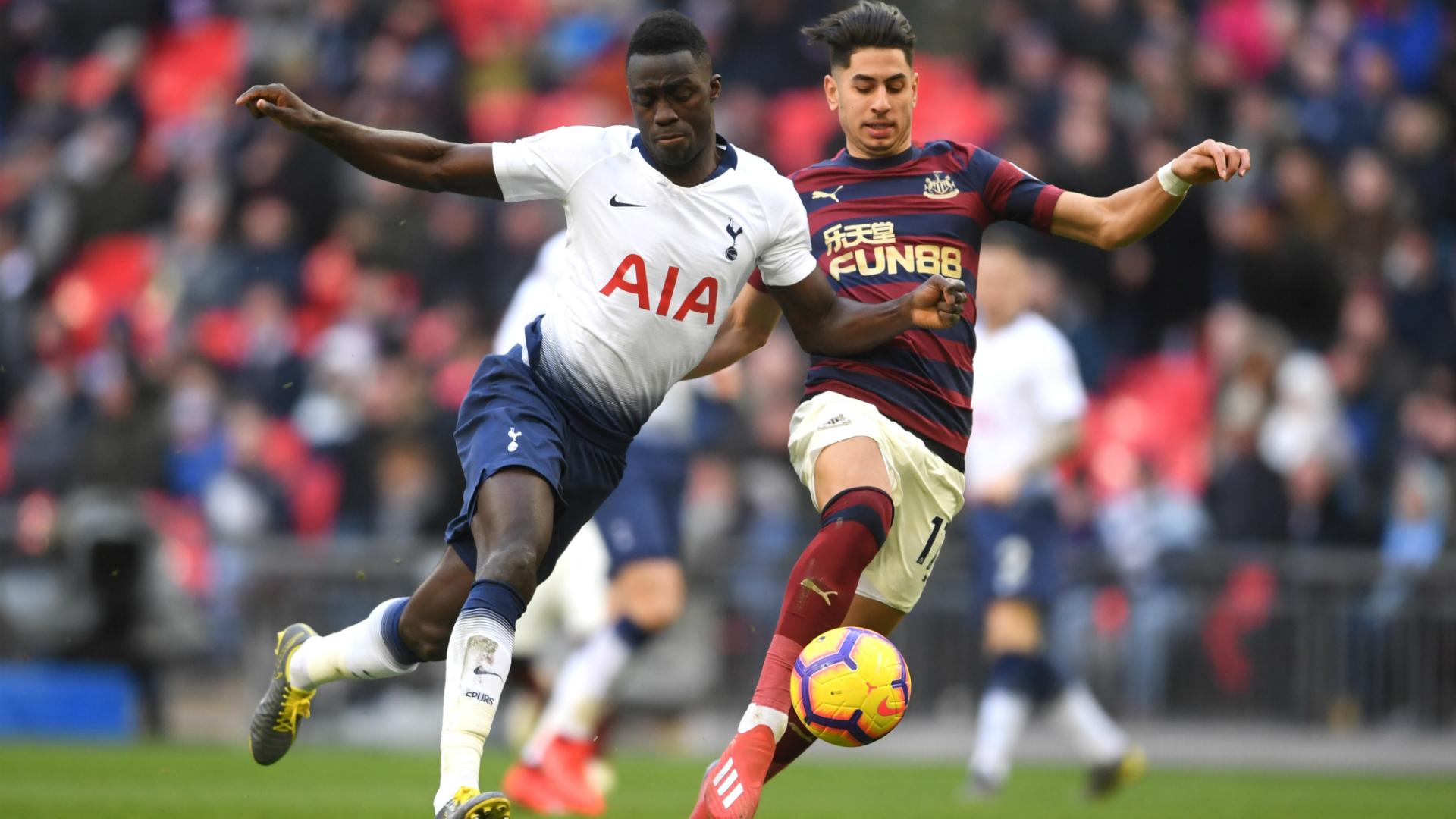 Davinson Sanchez Ayoze Perez Tottenham Hotspur - Newcastle United 02022019