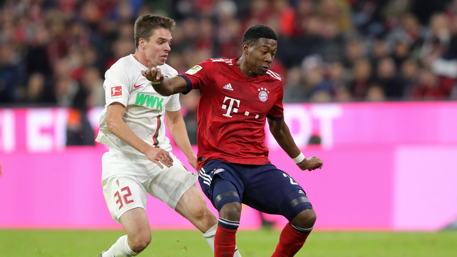 FC Bayern FC Augsburg 2018