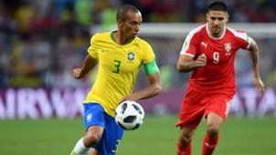 Miranda I Brasil Sérvia I 27 06 18 I Copa do Mundo