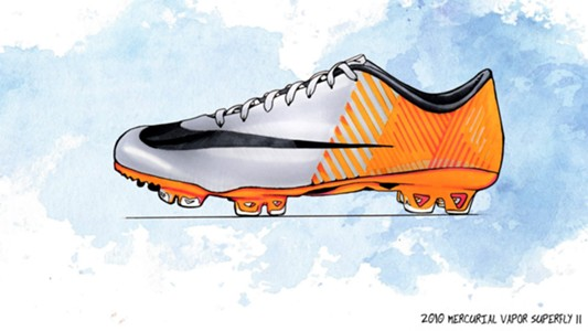 Mercurial Vapor Superfly II - 2010
