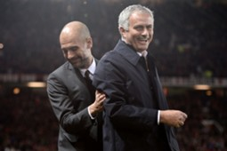 guardiola and mourinho