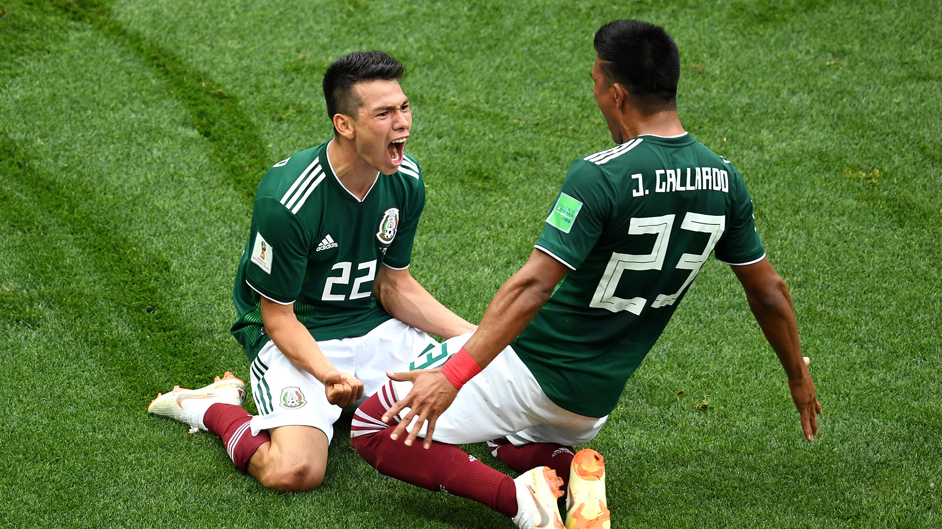 Hirving Lozano Germany Mexico World Cup 2018 170618