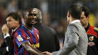 Eto'o Guardiola Barcelona