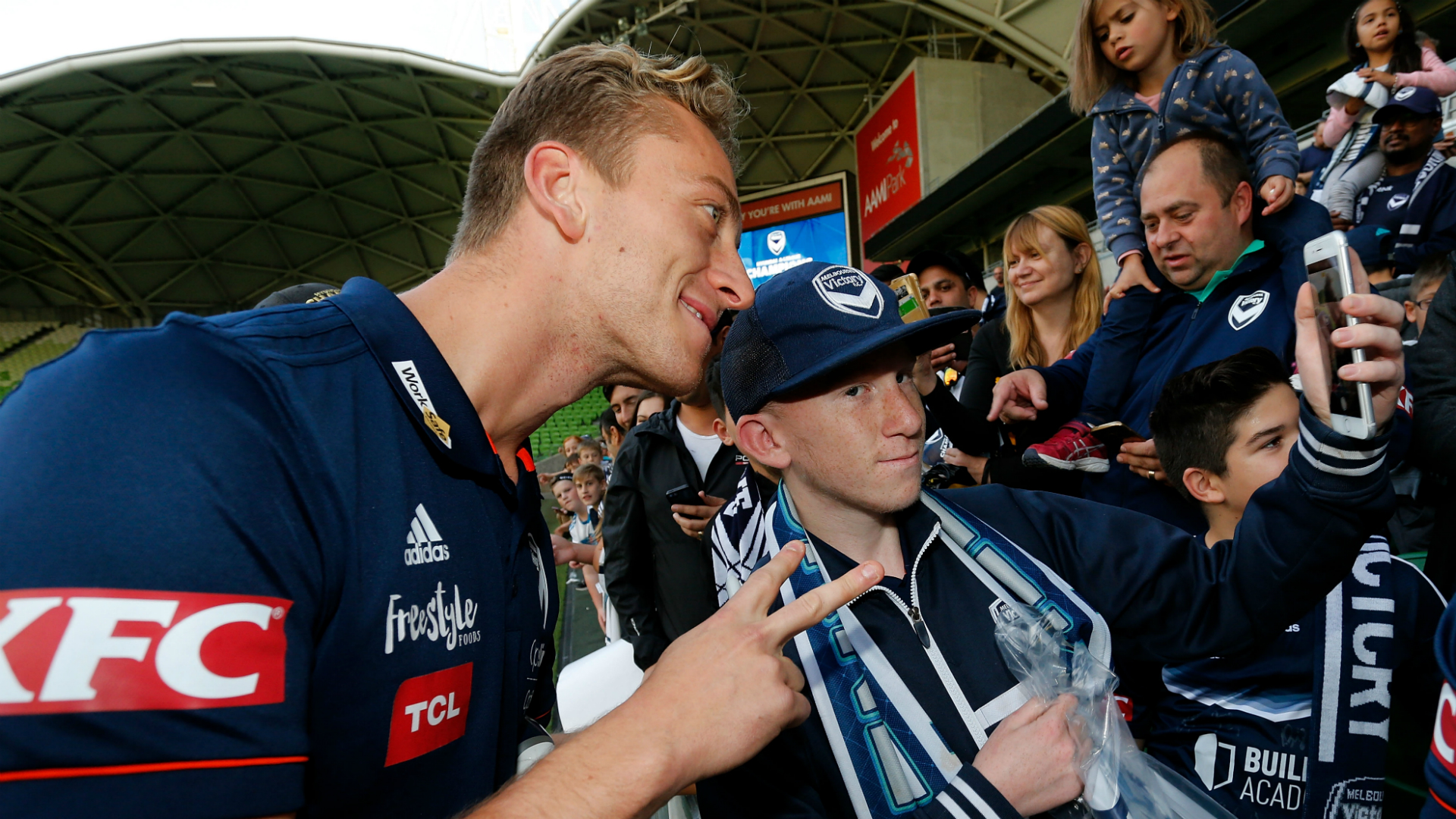 Lawrence Thomas Melbourne Victory