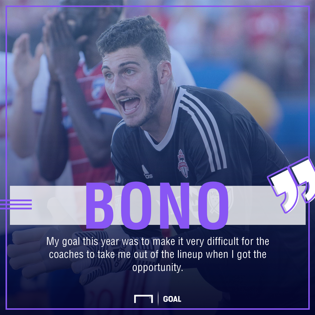 083d895eaac MLS Playoffs Spotlight  Toronto FC s Alex Bono blossoming in goal ...
