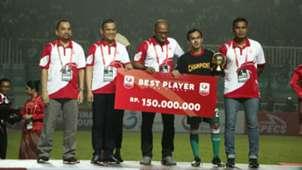 Ichsan Pratama Best Player Liga 2 2018