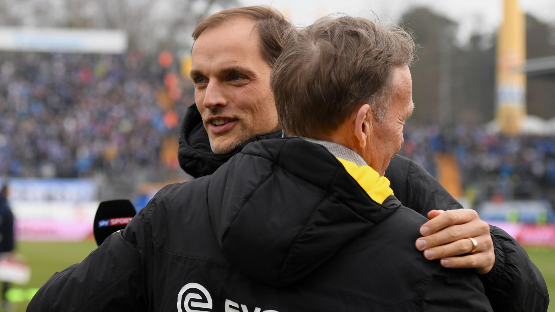 Watzke Tuchel Borussia Dortmund Bundesliga