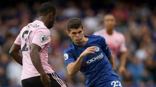 Christian Pulisic Chelsea Leicester City