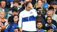 Frank Lampard frustrated Chelsea Leicester City