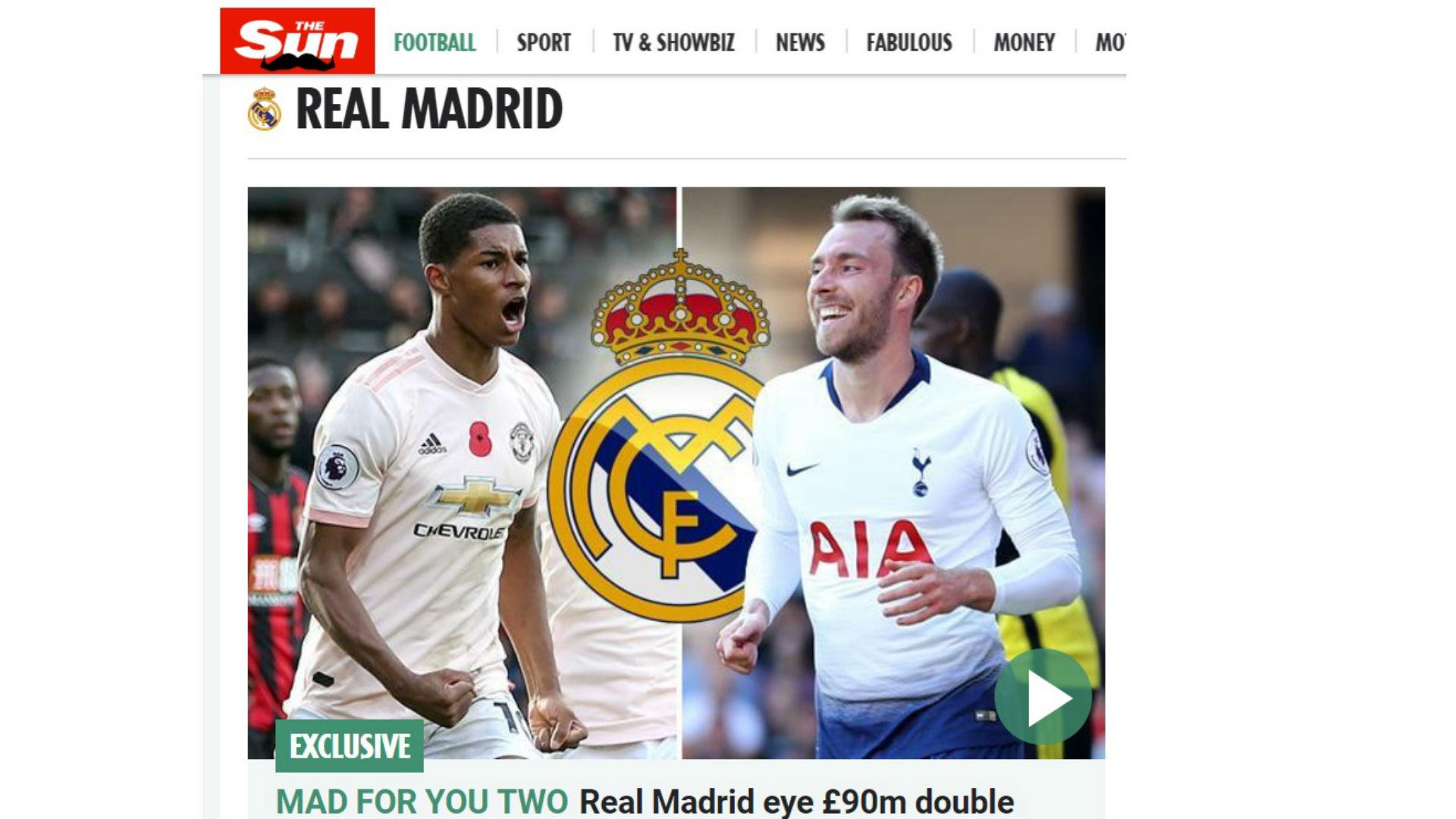 FICHAJES DEL REAL MADRID EN VIVO  los últimos rumores de Bale ... 6ebe29ffc79