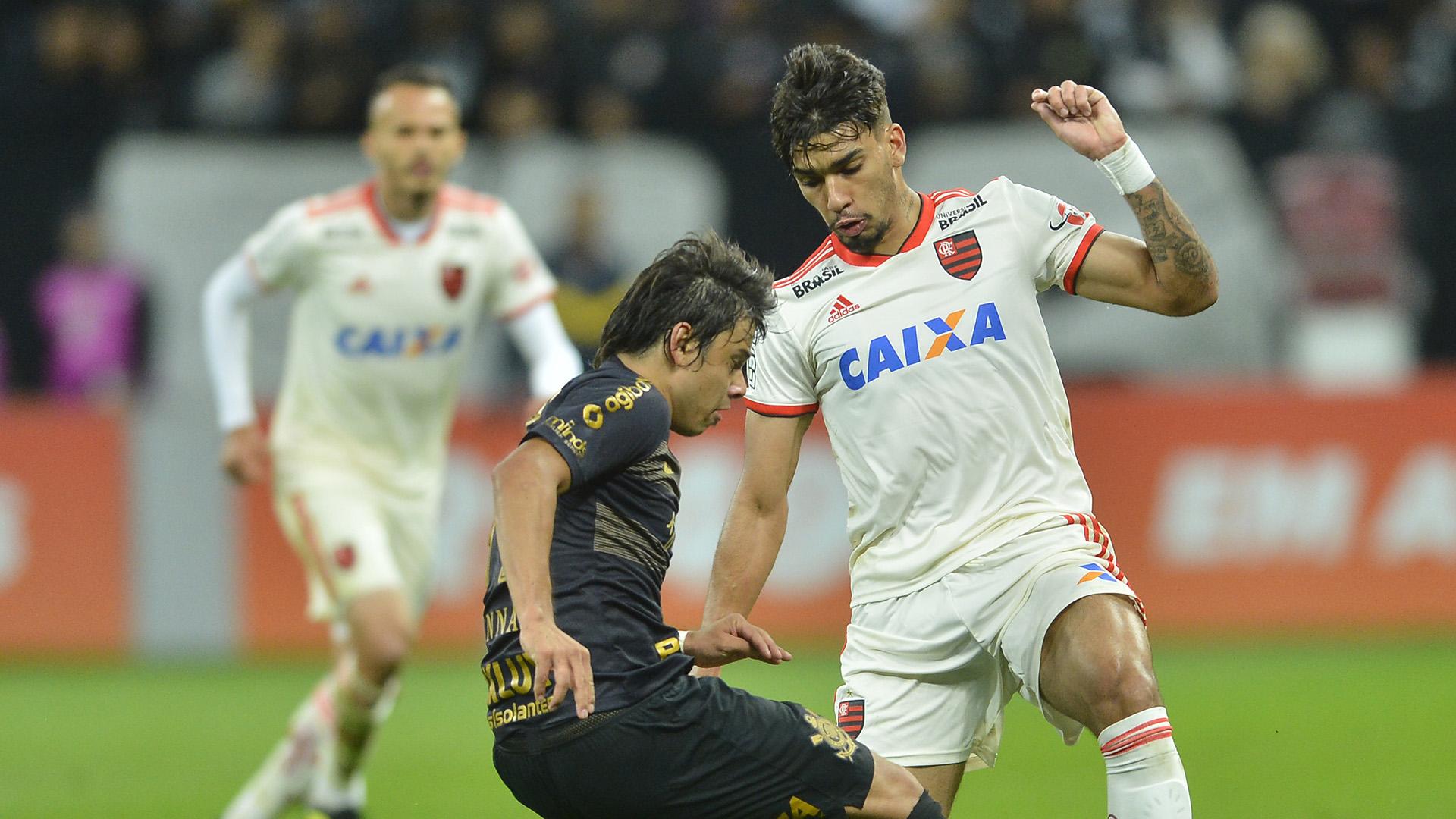 Lucas Paqueta Angel Romero Corinthians Flamengo Brasileirão Série A 05102018