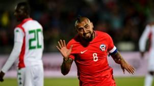 Arturo Vidal Chile Burkina Faso 020617