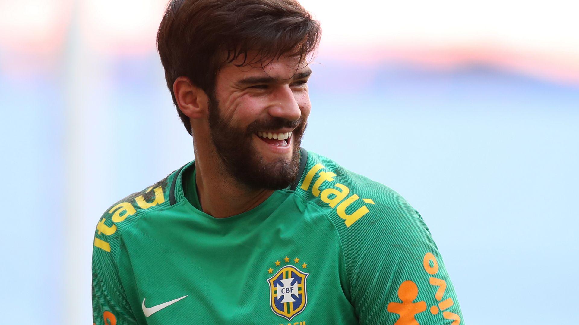 Alisson Brazil Selecao treino 03092017