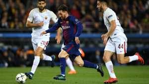 Lionel Messi Barcelona Roma