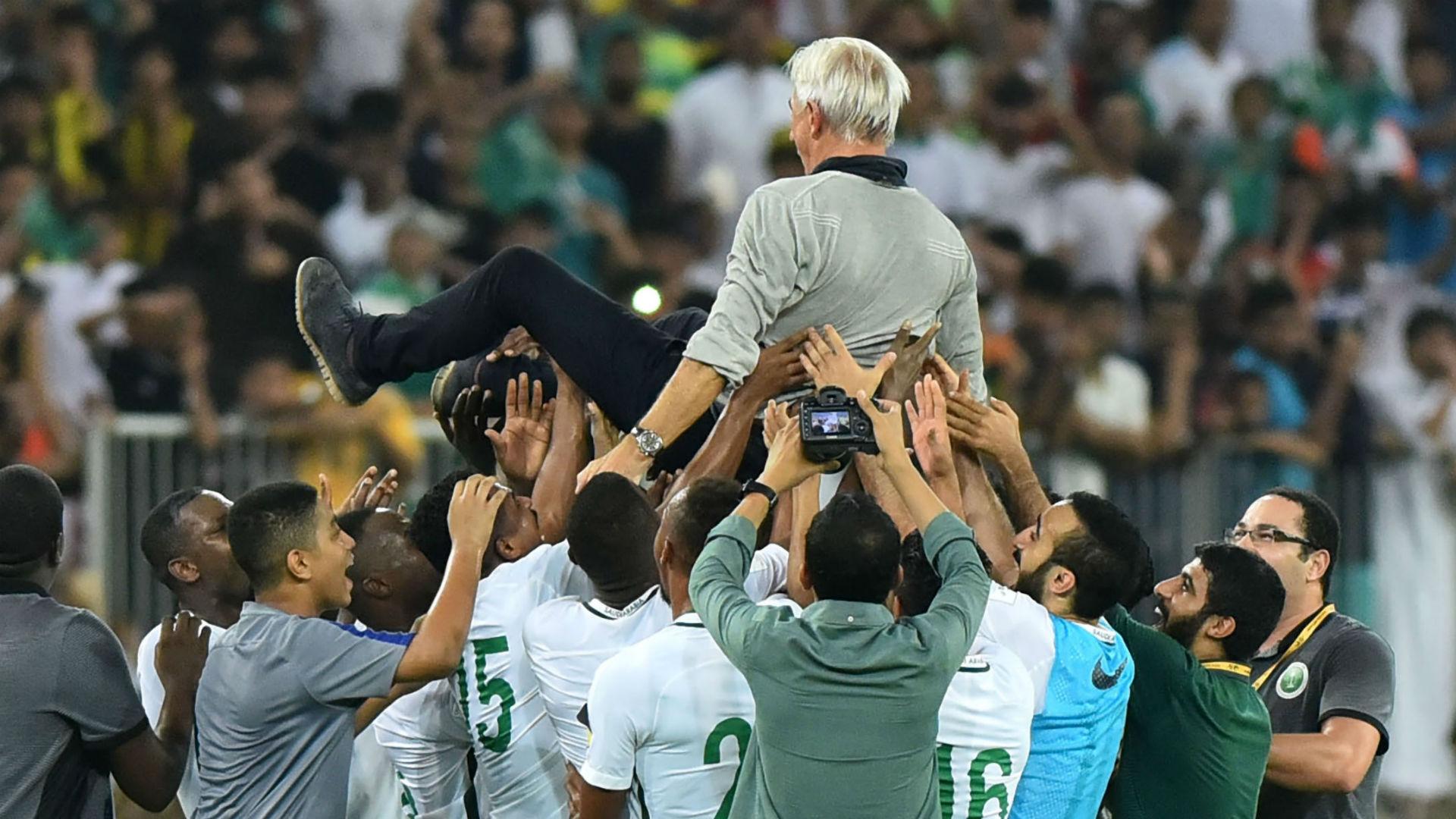 Bert van Marwijk Saudi Arabia