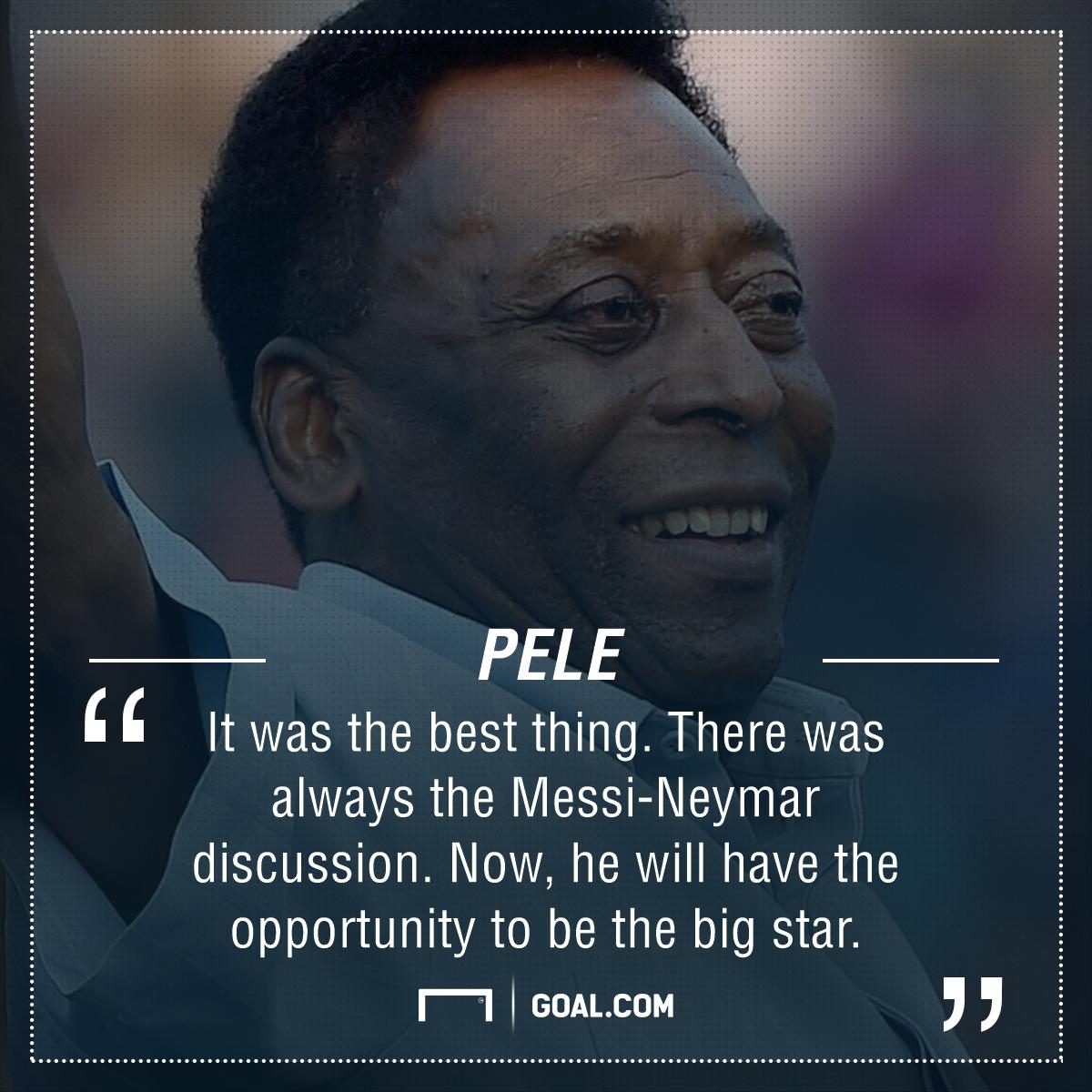Pele Neymar quote
