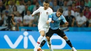 Lucas Torreira Cristiano Uruguay Portugal WC Russia 2018