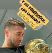 Sergio Ramos Balón de Oro