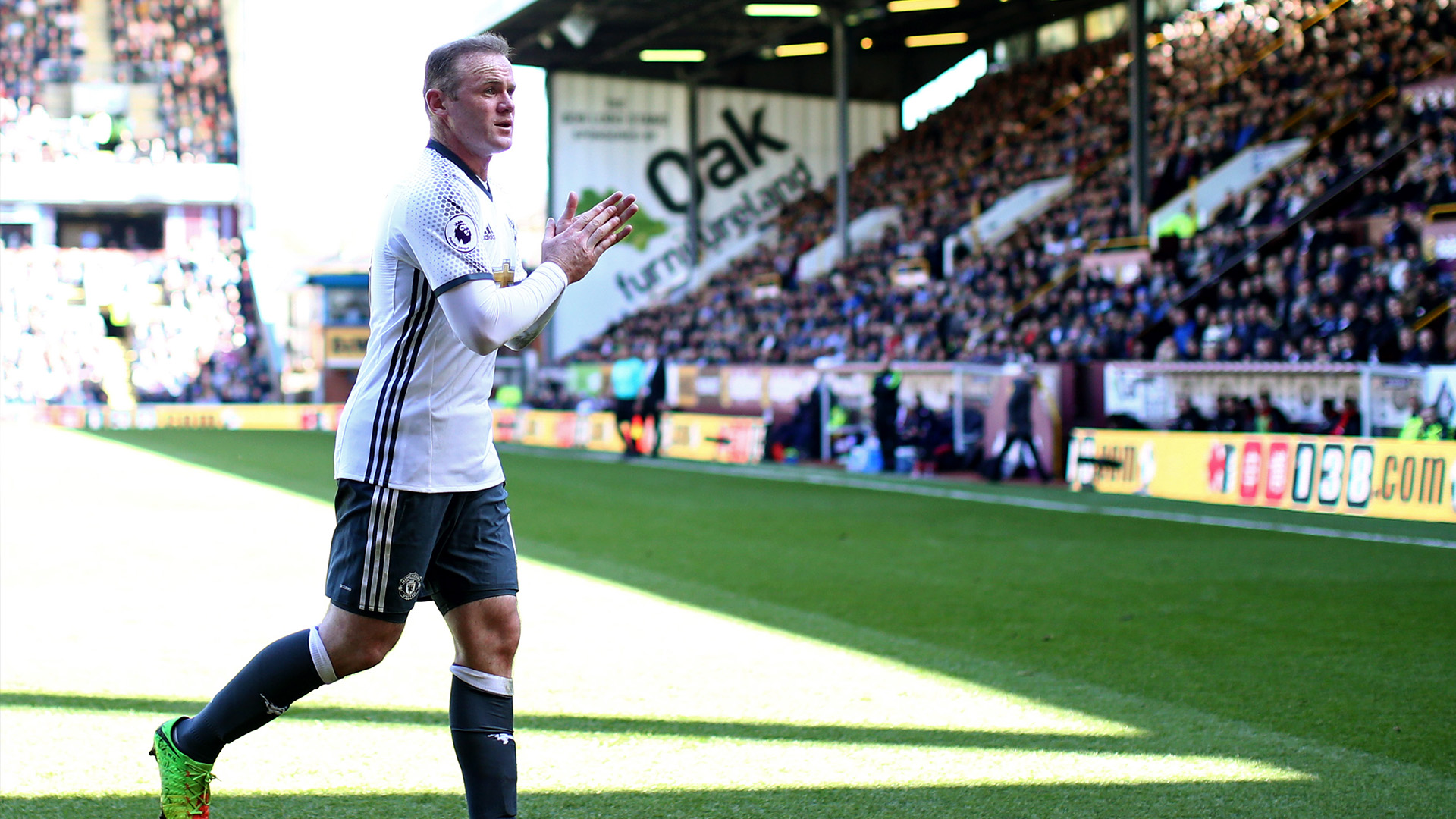 Rooney at Burnley