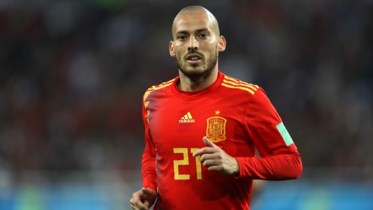 David Silva Spain Morocco España Marruecos 25062018
