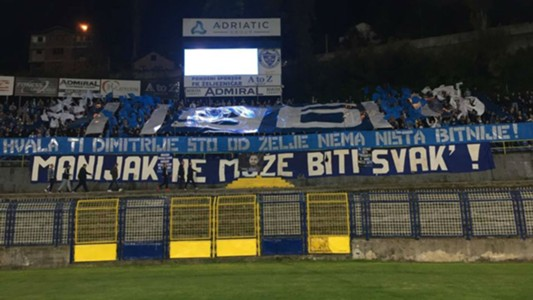Zeljeznicar fans Grbavica